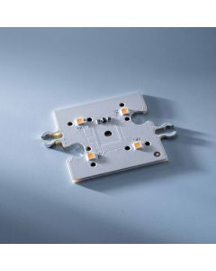 Módulo Linear ConextMatrix 4 LED brancos quentes 118lm 4x4 cm 24V CRI 90 118lm 0.89W