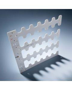 Nichia LED módulo BackMatrix 49 28x28cm 70 LED 24V 180 graus Branco 2700K 10.9W 1150lm