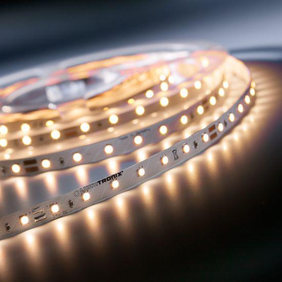 LumiFlex 35 Nichia Tira LED neutro branco 4000K 1328lm 24V 70 LED/m preço de 50cm (1328lm/m 9.6W/m)