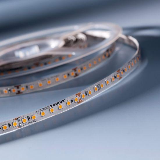 LumiFlex 70 Nichia Tira LED neutro branco 4000K 24V 2656lm 140 LED/m preço por 50cm (2656lm/m 19.2W/m)