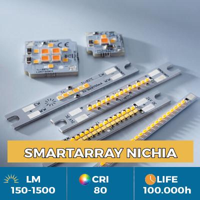 Módulos de LED SmartArray profissionais Nichia, para corpos iluminados