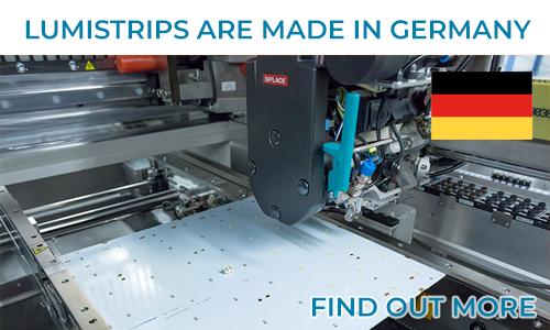 Descubra a nossa fábrica de módulos LED na Alemanha
