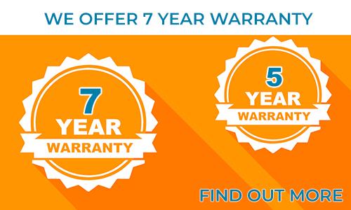 Oferecemos até 7 anos de garantia para as nossas fitas e módulos de LED